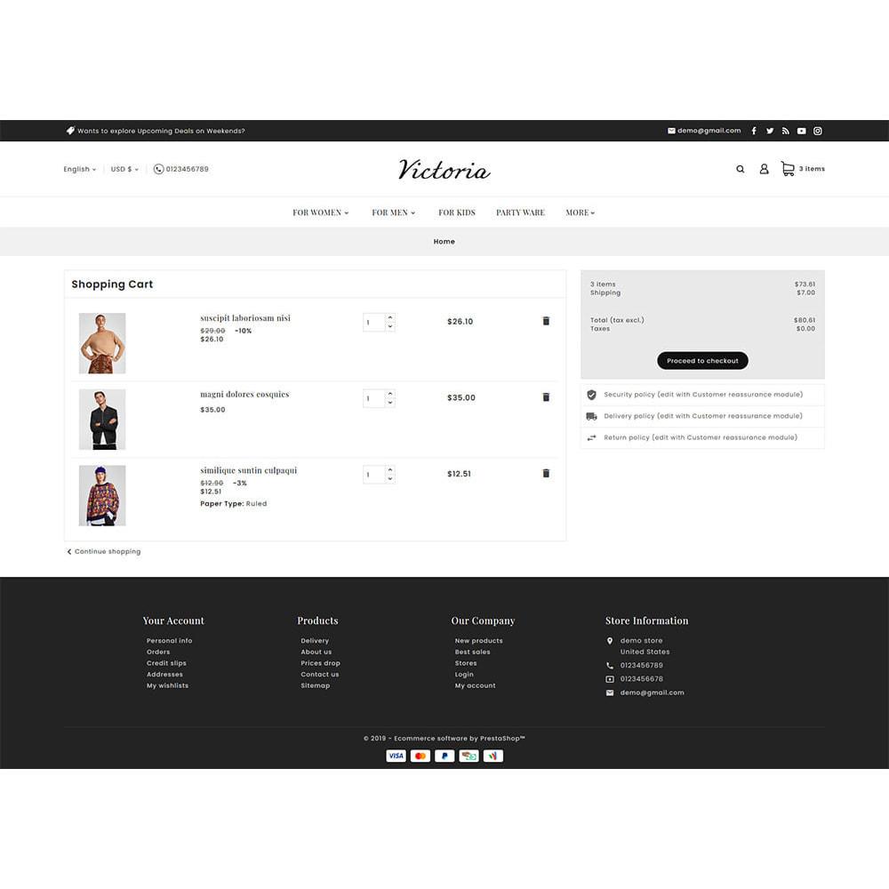 theme - Fashion & Shoes - Victoria Fashion Apparels - 8