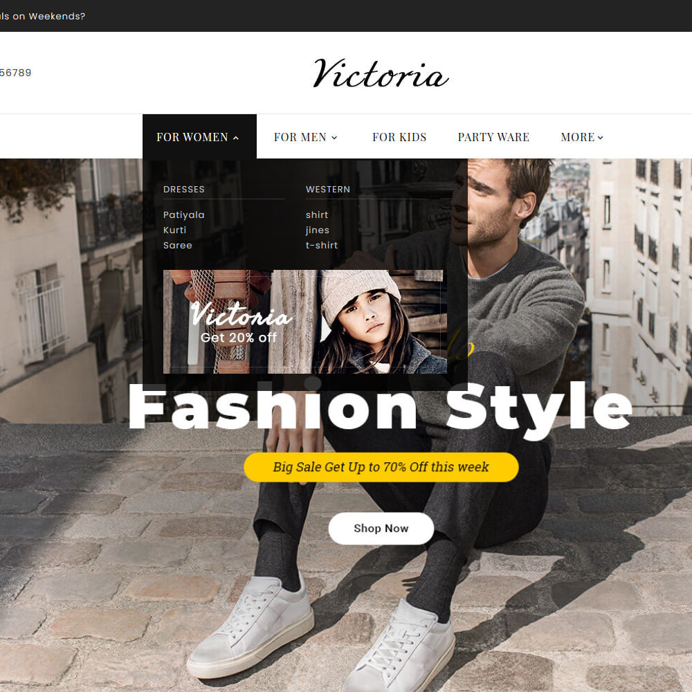 theme - Fashion & Shoes - Victoria Fashion Apparels - 11