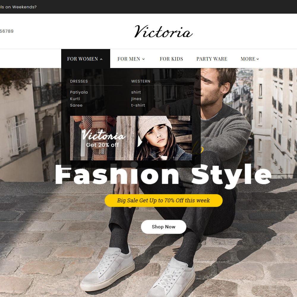theme - Moda y Calzado - Victoria Fashion Apparels - 11