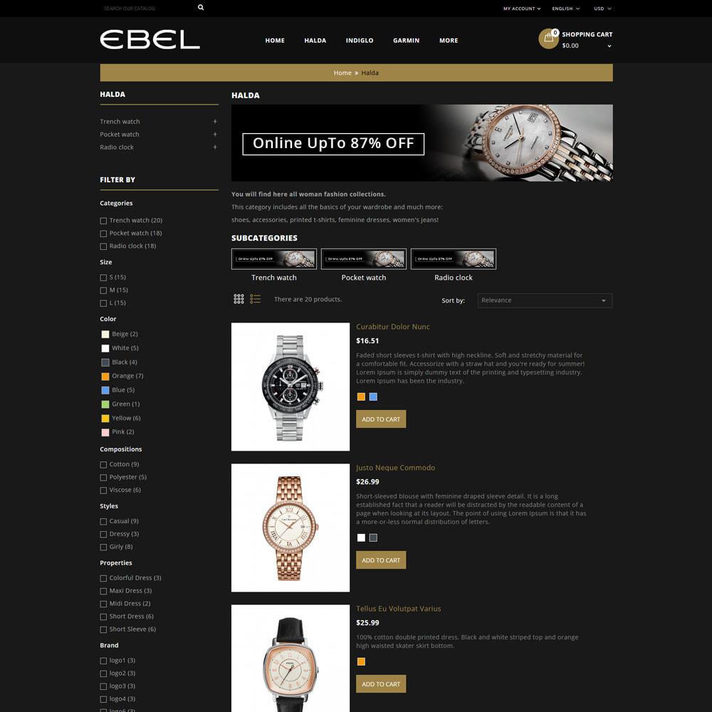 theme - Moda y Calzado - Ebel Tienda de relojes - 5