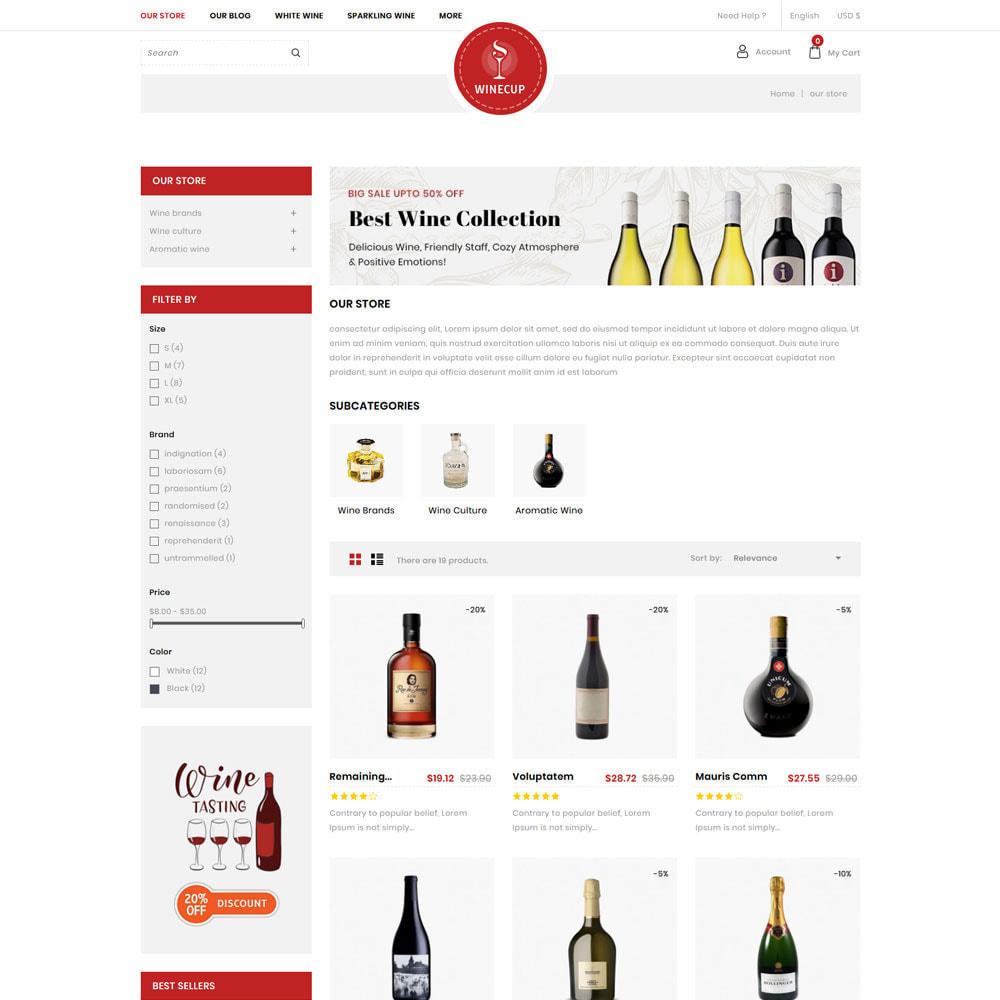 theme - Bebidas y Tabaco - Winecup - La tienda de vinos - 5