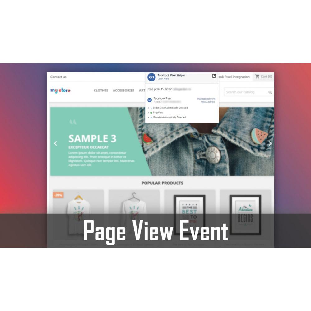 module - Werbung & Marketing - Pixel Integration - Conversions & Remarketing - 1