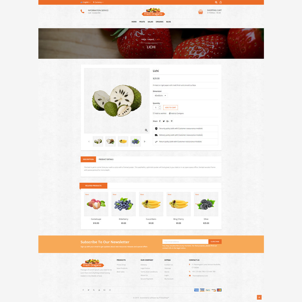 theme - Alimentation & Restauration - Magasin bio - 4