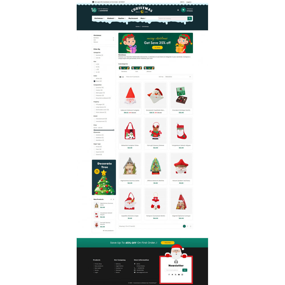 theme - Gifts, Flowers & Celebrations - Merry Christmas & Gifts - 3