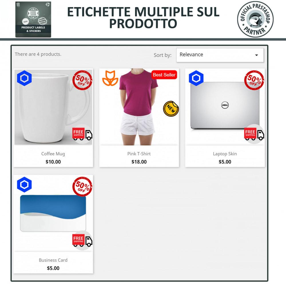 module - Badge & Loghi - Etichette e Adesivi per Prodotti - 3