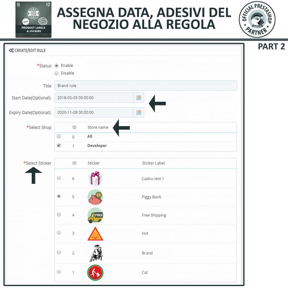 module - Badge & Loghi - Etichette e Adesivi per Prodotti - 13