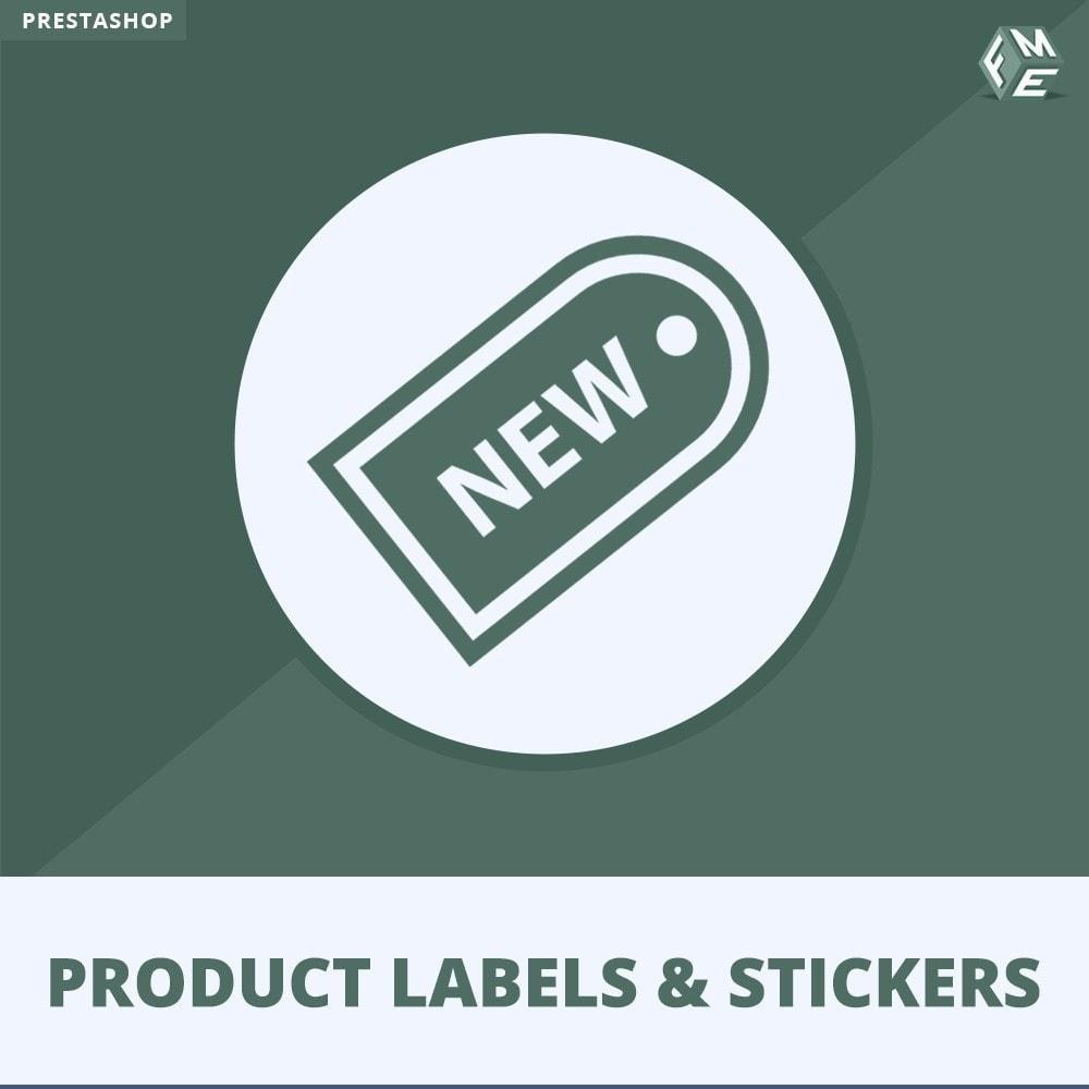 module - Badges & Logos - Product Labels en Stickers - 1