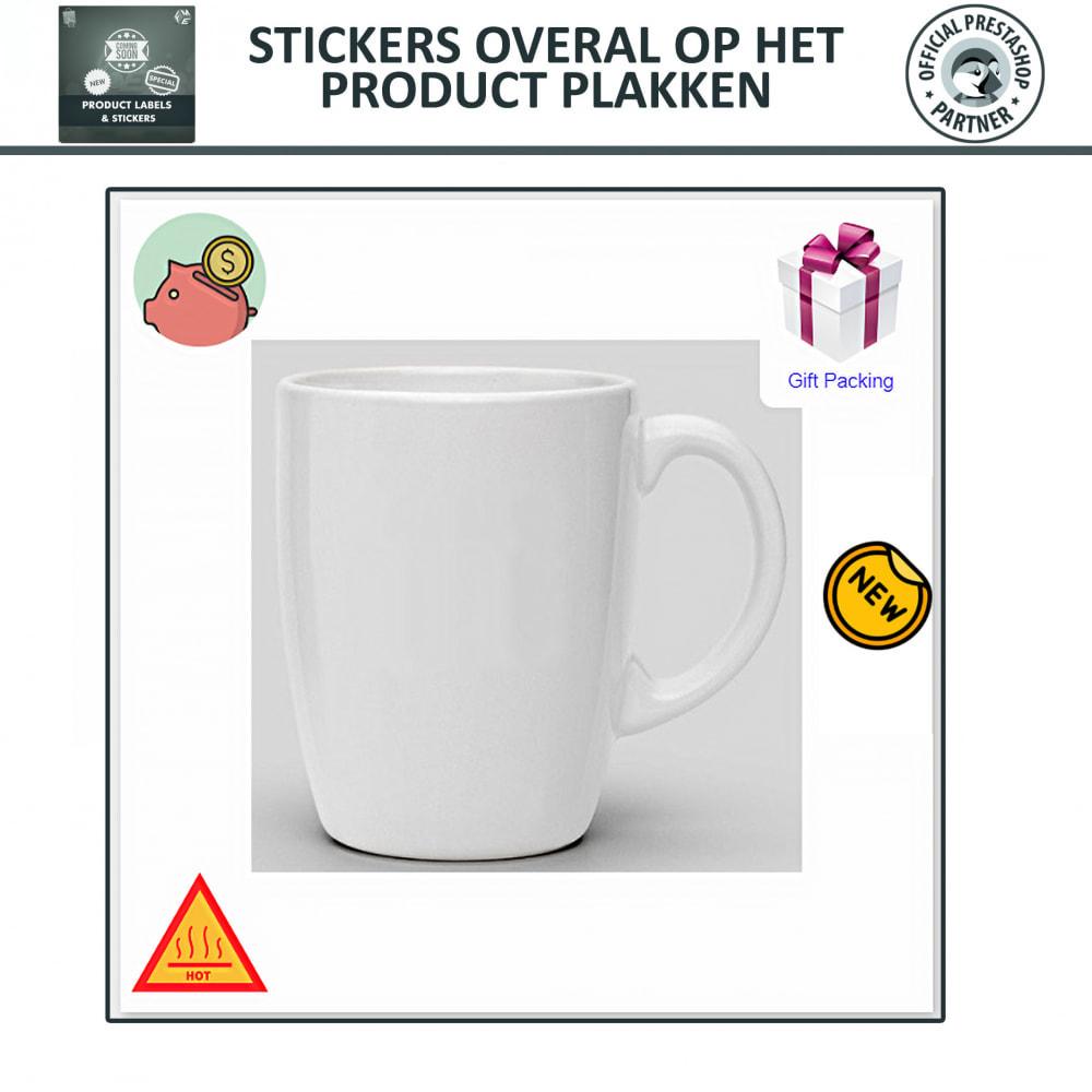 module - Badges & Logos - Product Labels en Stickers - 5