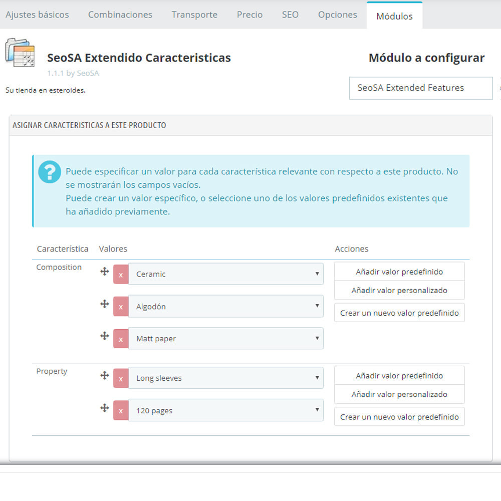 module - Tallas y Dimensiones - Características extendidas en el producto - 10