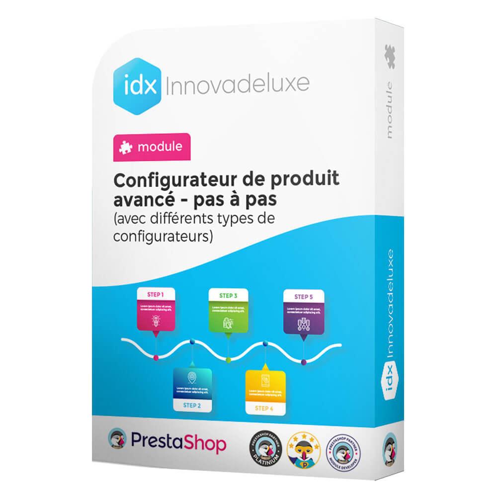 module - Déclinaisons & Personnalisation de produits - Configurateur de produit avancé - pas à pas - 1