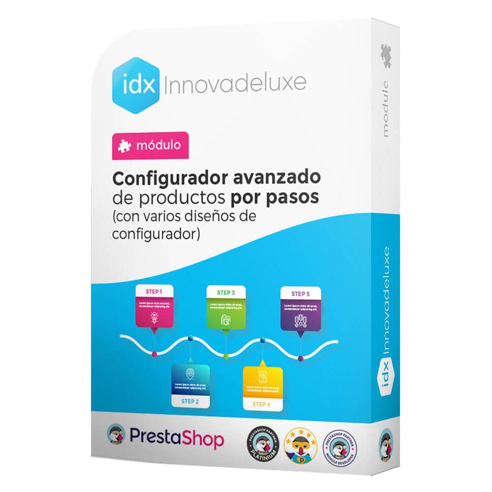 module - Combinaciones y Personalización de productos - Configurador avanzado de productos por pasos - 1