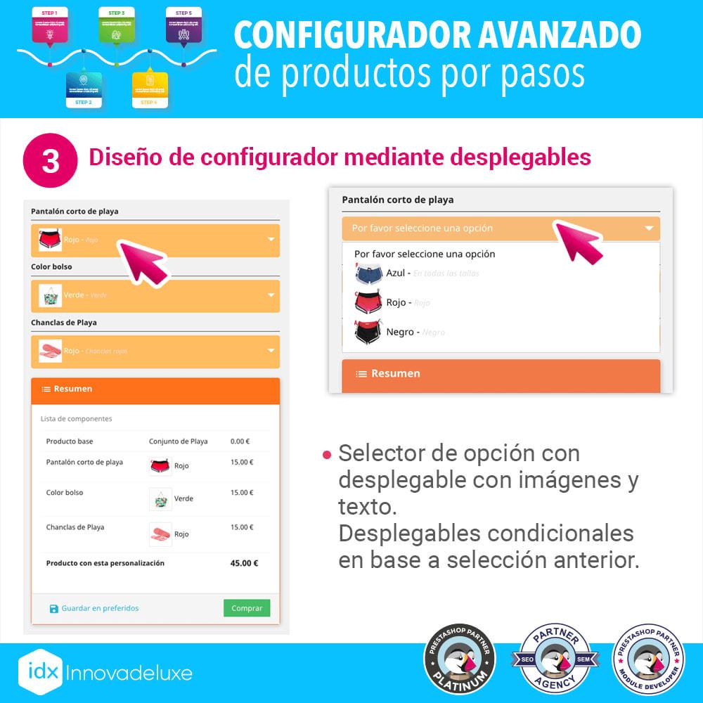 module - Combinaciones y Personalización de productos - Configurador avanzado de productos por pasos - 4