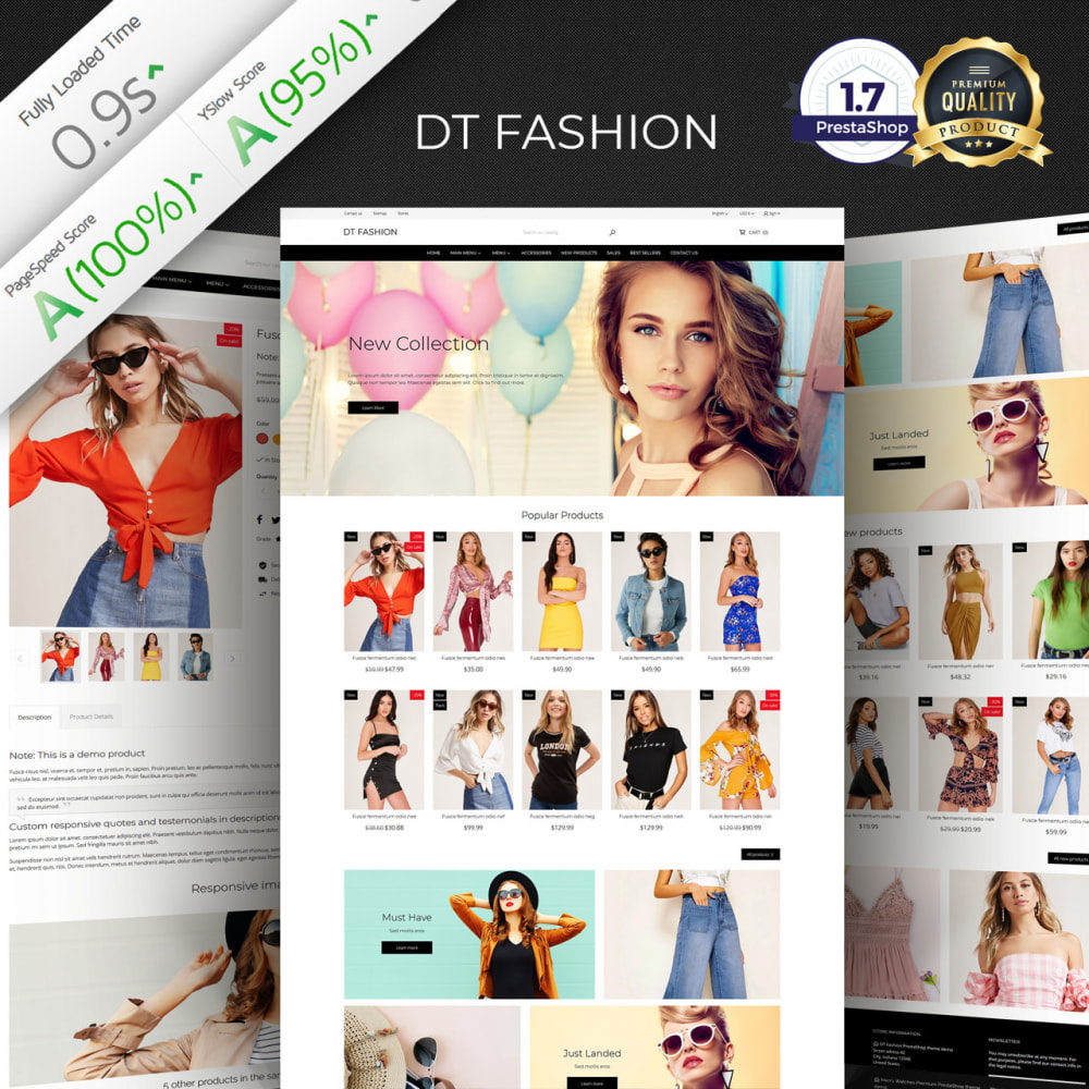 theme - Mode & Chaussures - DT Fashion clothes - 1