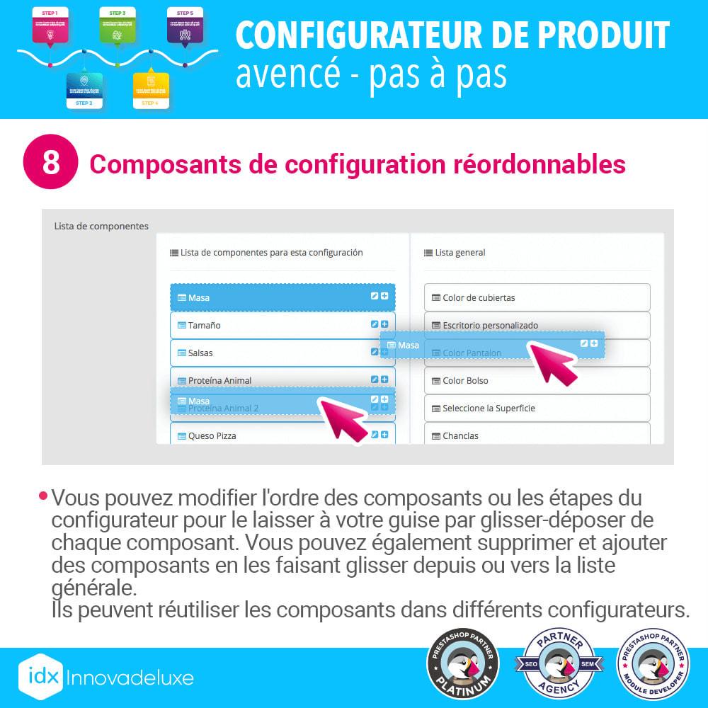module - Déclinaisons & Personnalisation de produits - Configurateur de produit avancé - pas à pas - 9