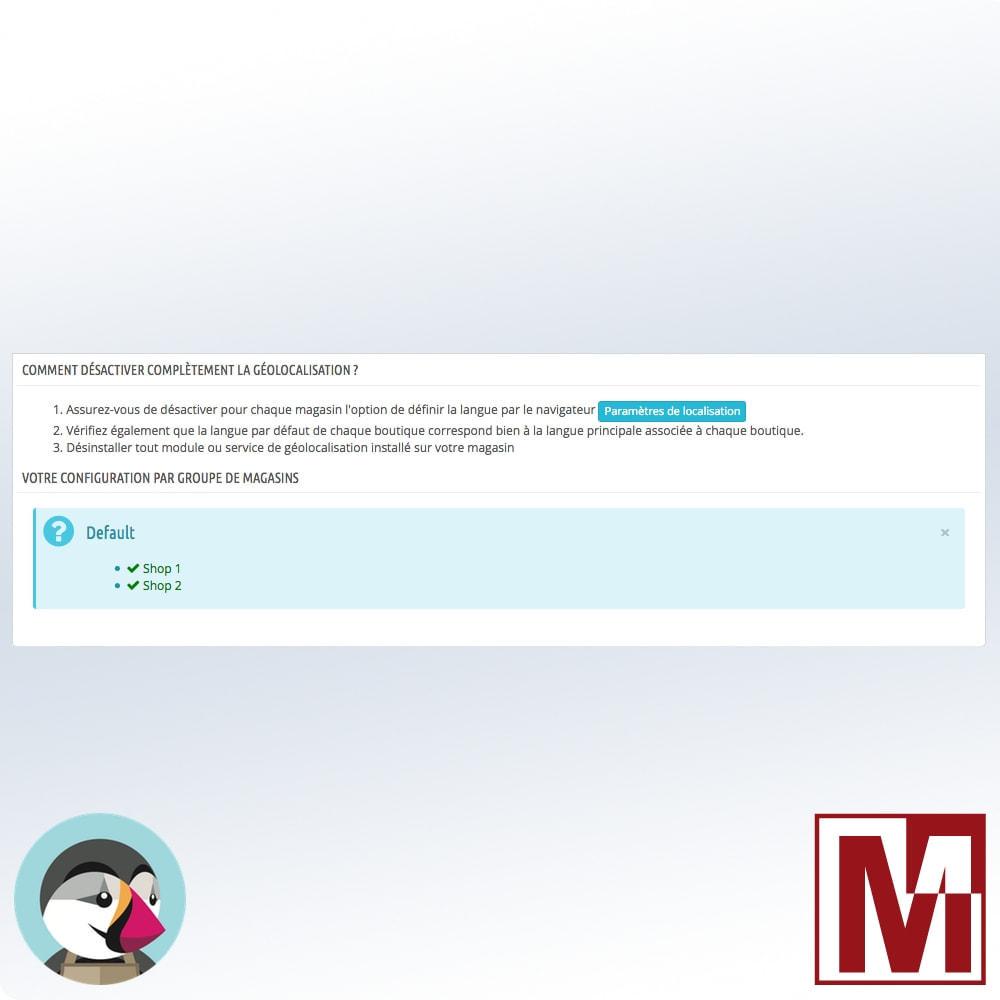 module - International & Localisation - Une boutique par langue, une langue par boutique - 5