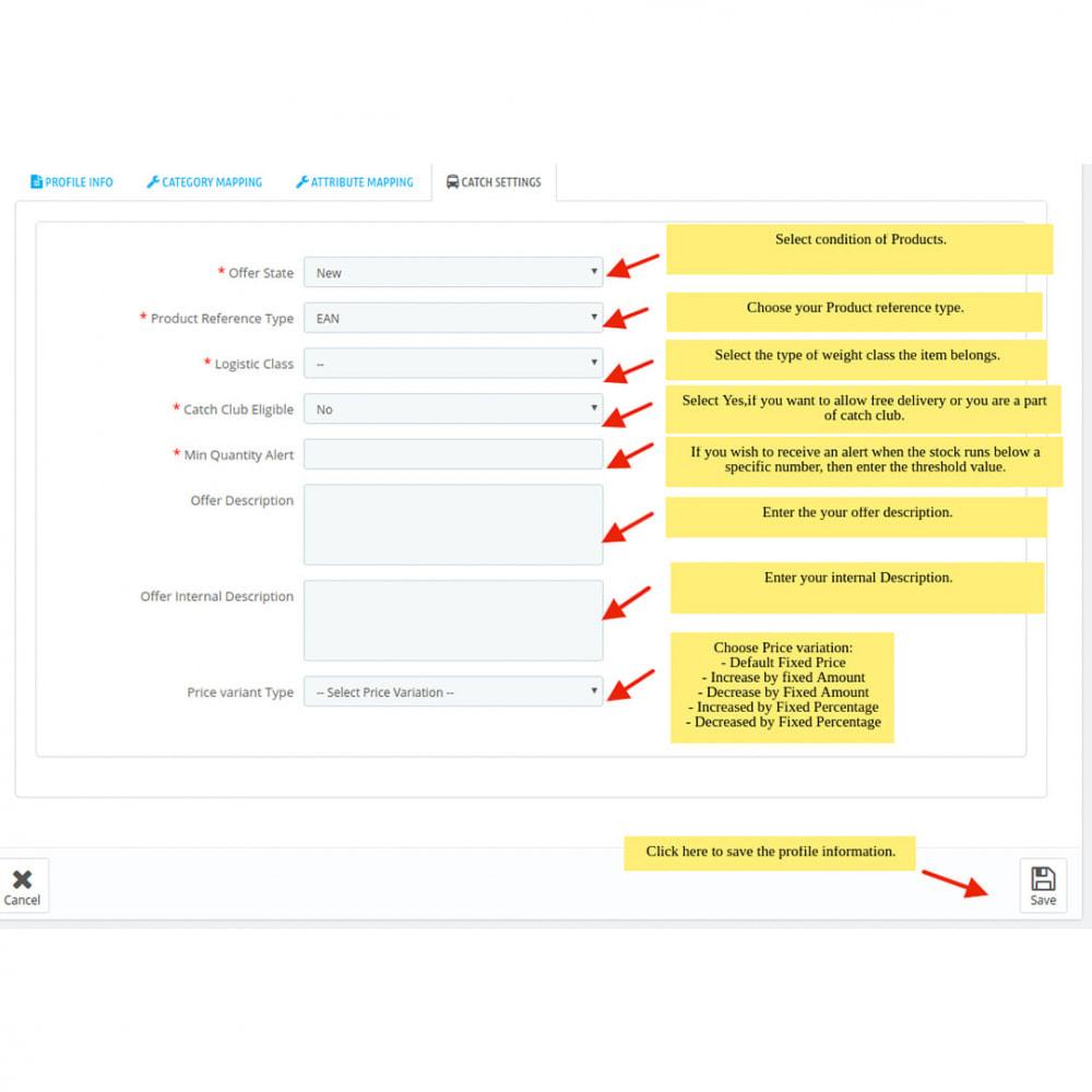 module - Revenda (marketplace) - Catch Integration - 10