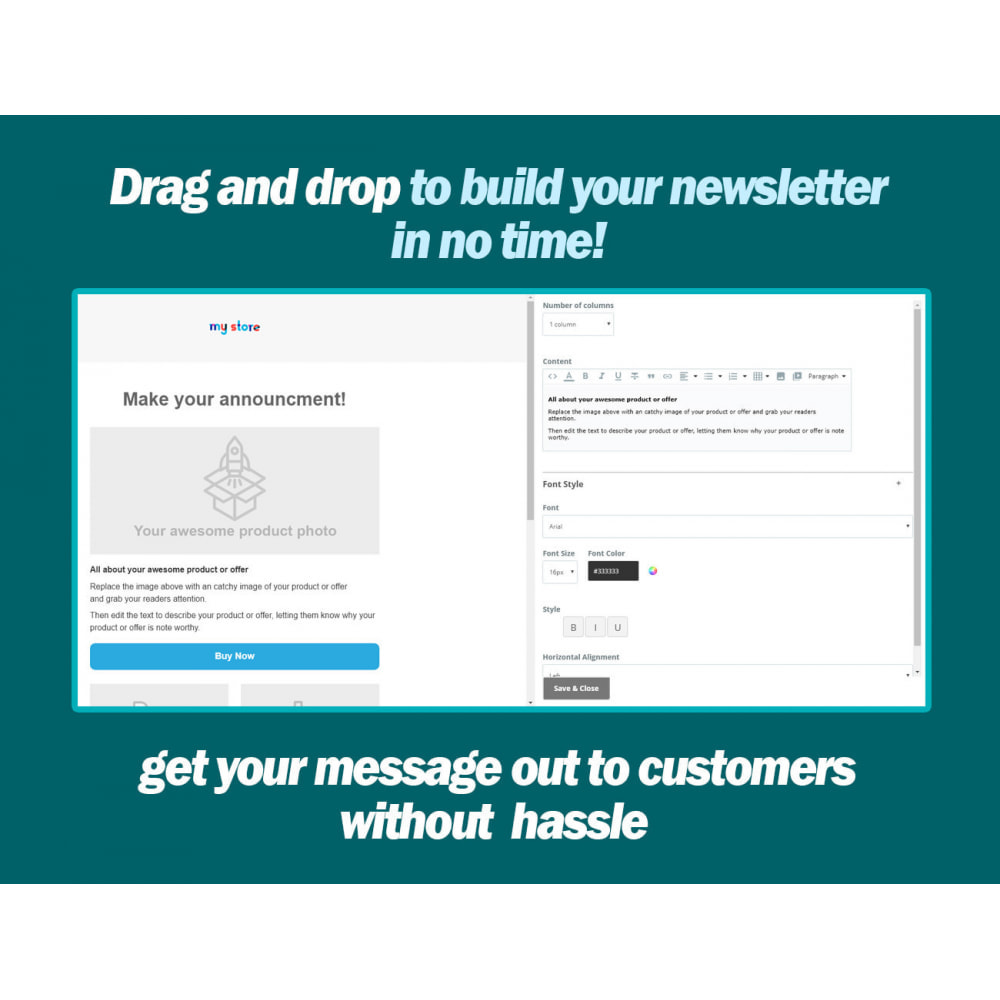 module - Newsletter & SMS - Newsletter Wizard Pro - 3