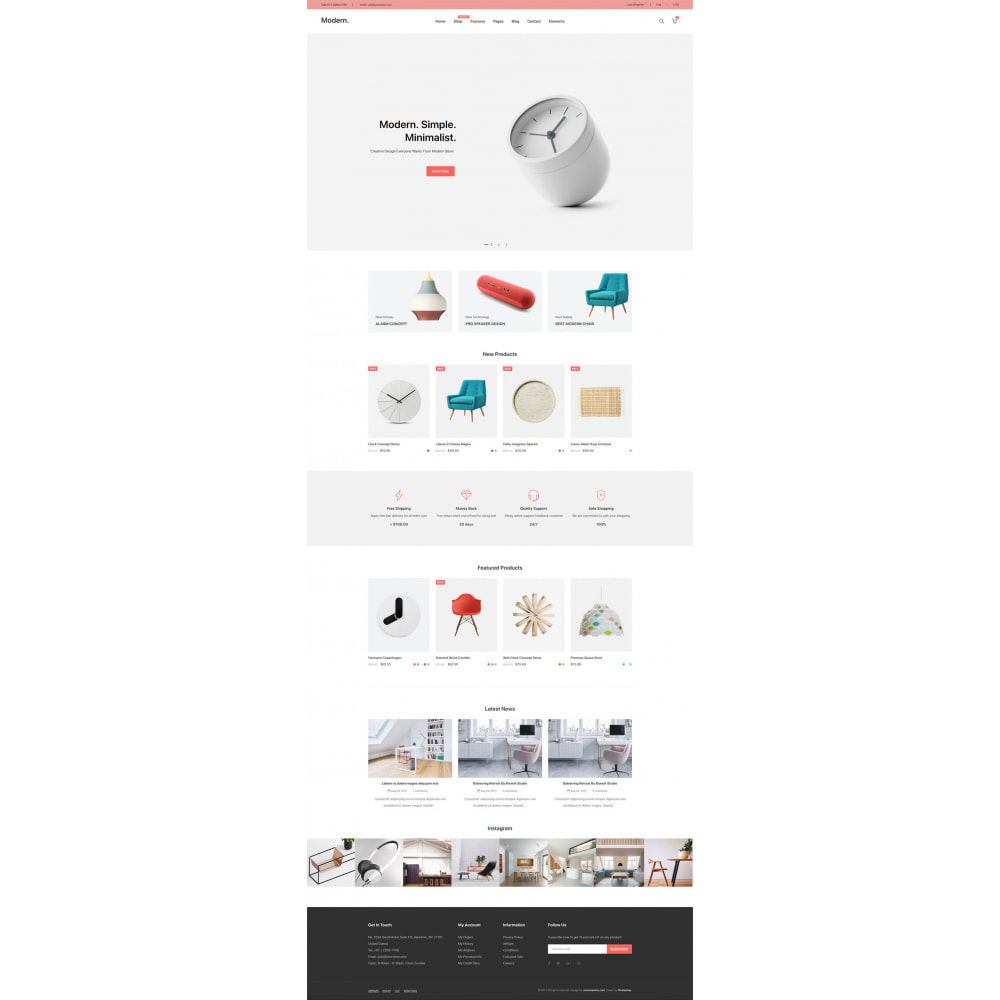theme - Home & Garden - Modern - Minimal Decor Store - 14