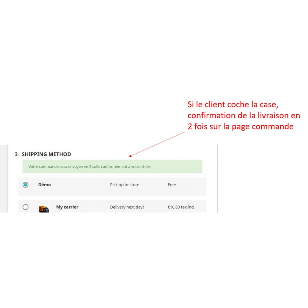 module - Information supplémentaire & Onglet produit - Réapprovisionnement: envoi produits en stock en premier - 3