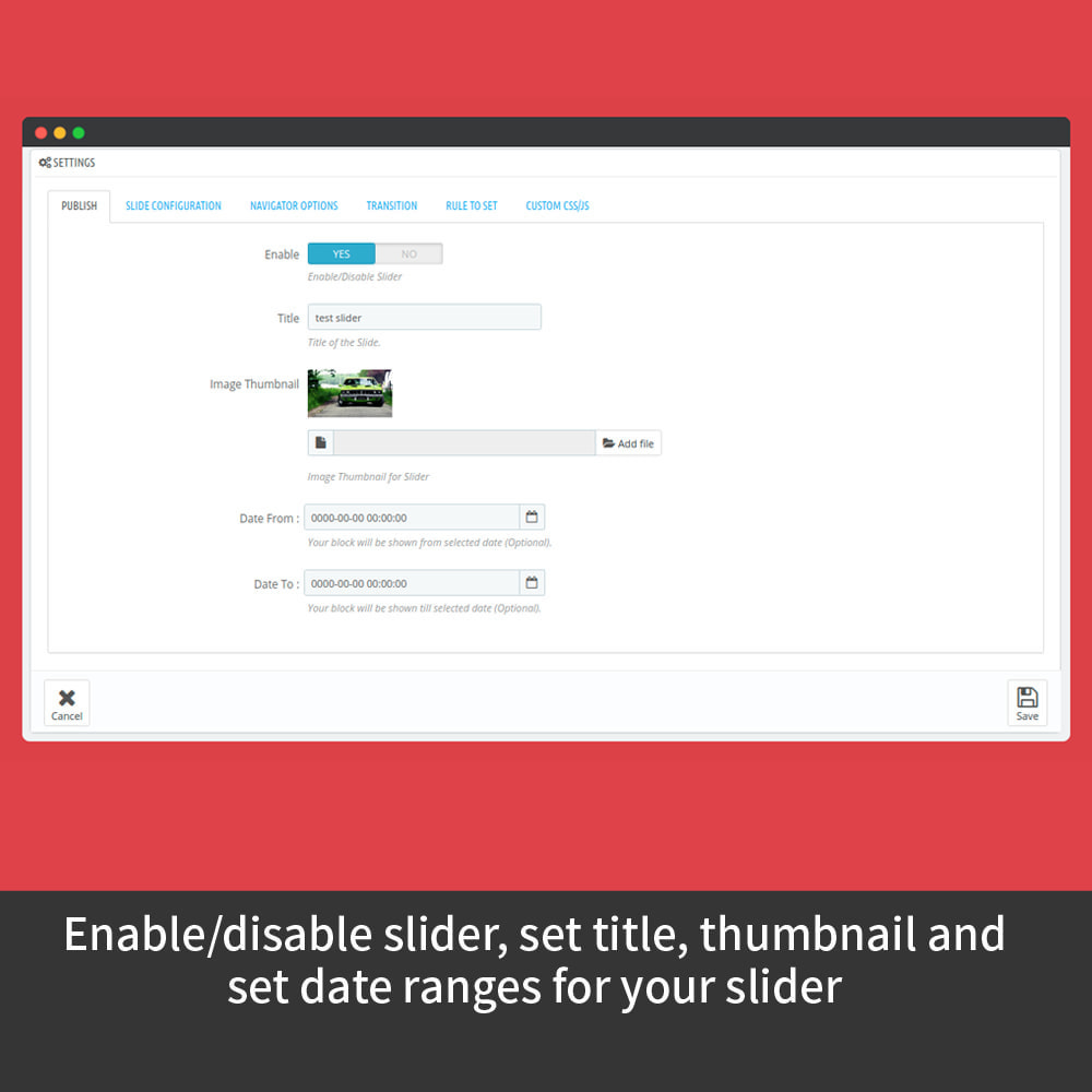 module - Sliders & Galleries - Content Slider - 7