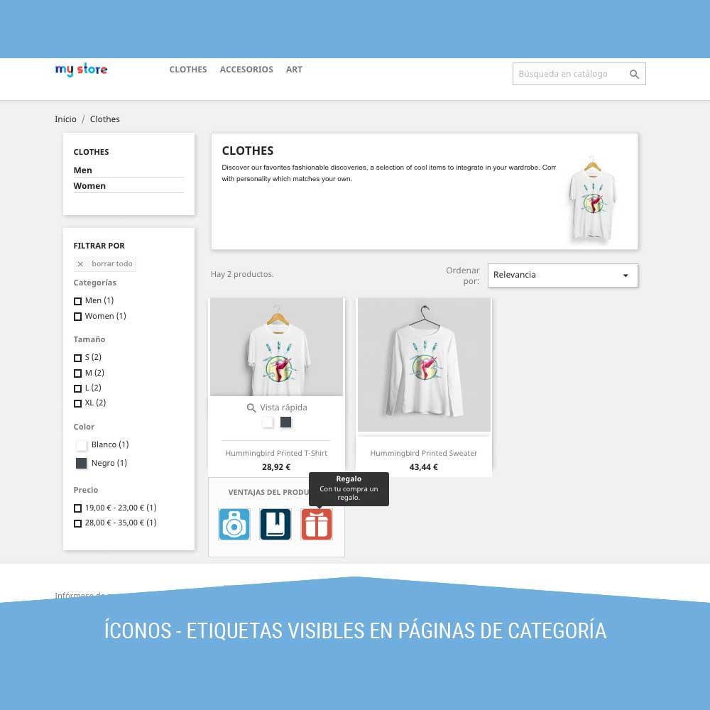 module - Etiquetas y Logos - Icon tags para Productos - 7