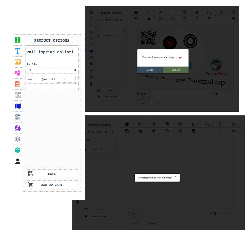 module - Combinaciones y Personalización de productos - Product Designer Studio - 4