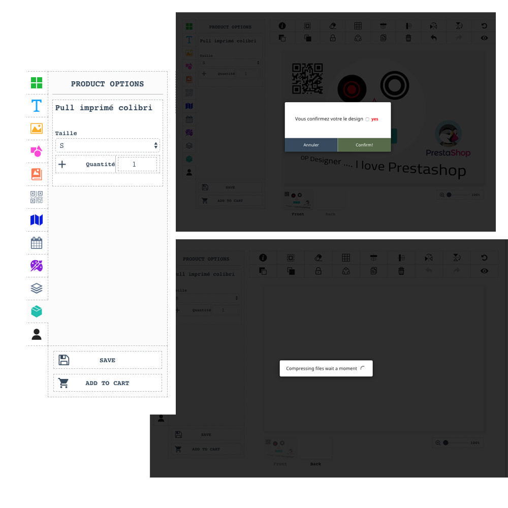 module - Combinations & Product Customization - Product Designer Studio - 7