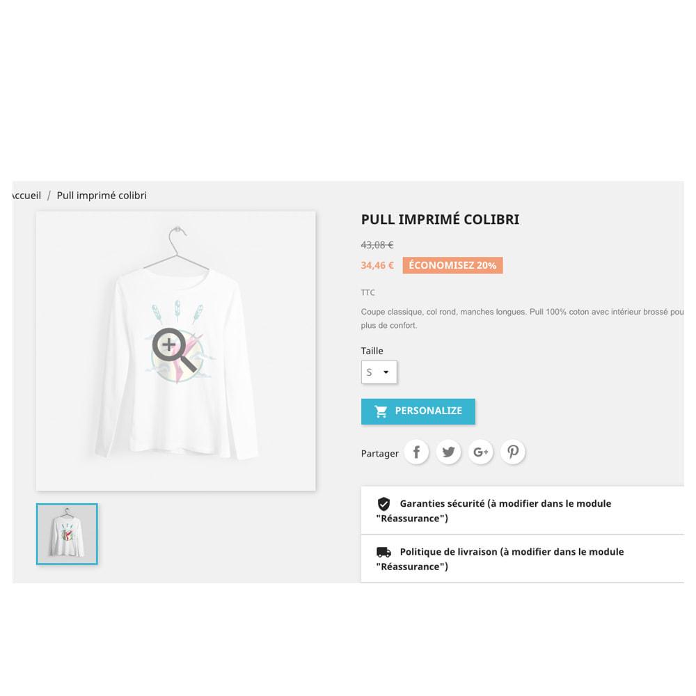 module - Combinations & Product Customization - Product Designer Studio - 9