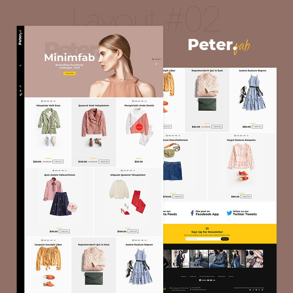 theme - Moda & Calçados - Peter - Fashion Boutique For Creatives - 3