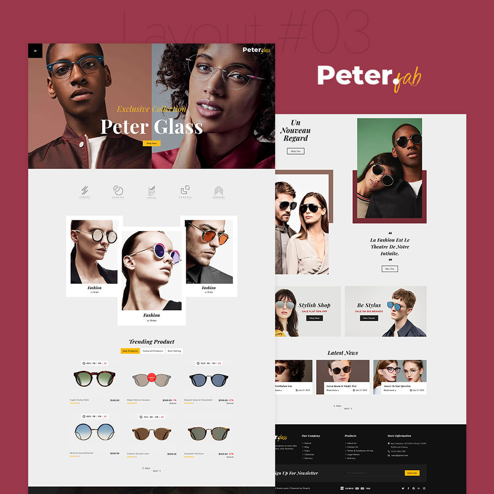 theme - Fashion & Shoes - Peter - Fashion Boutique For Creatives - 4