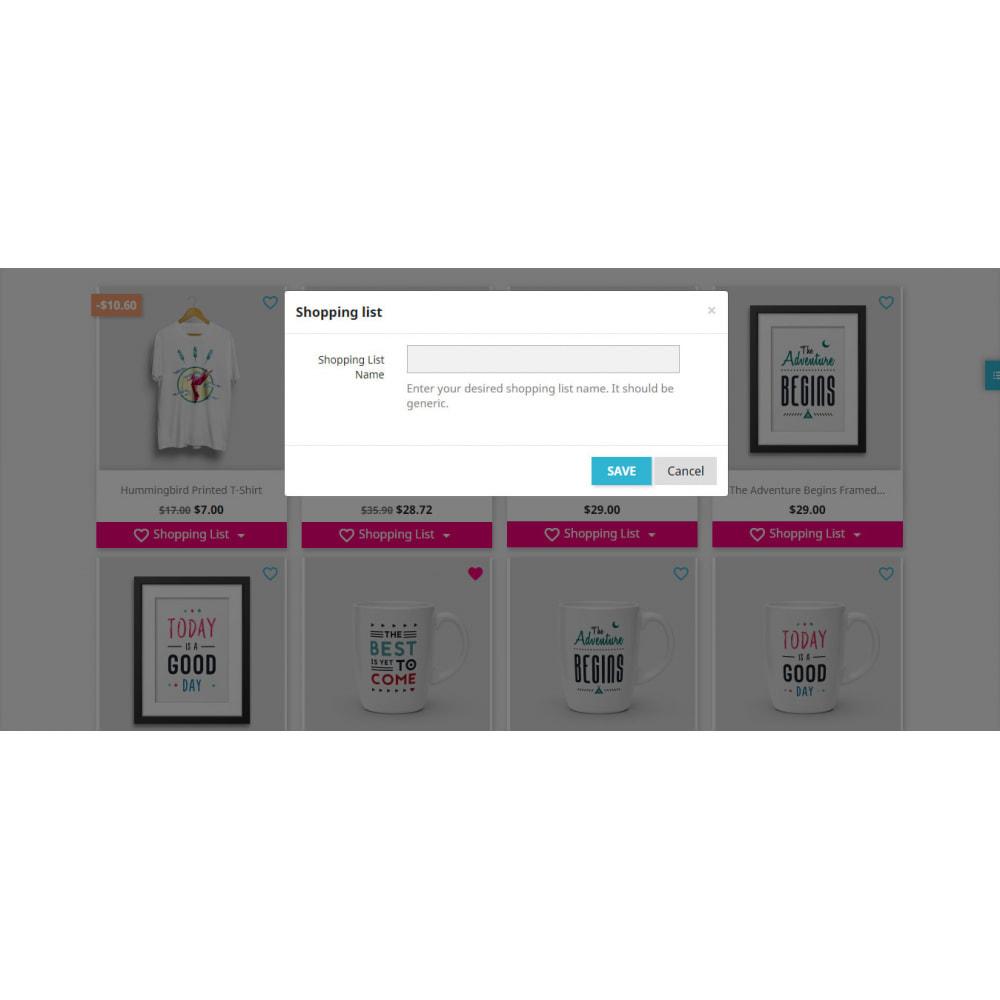 module - Lista życzeń & Karta podarunkowa - Shopping List   Wishlist Buy Later   Favorite Products - 25