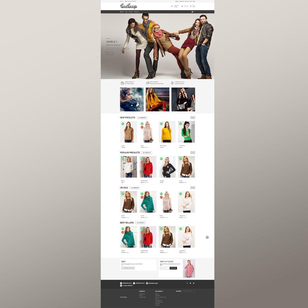 theme - Moda & Obuwie - Sklep z odzieżą Beep - 4