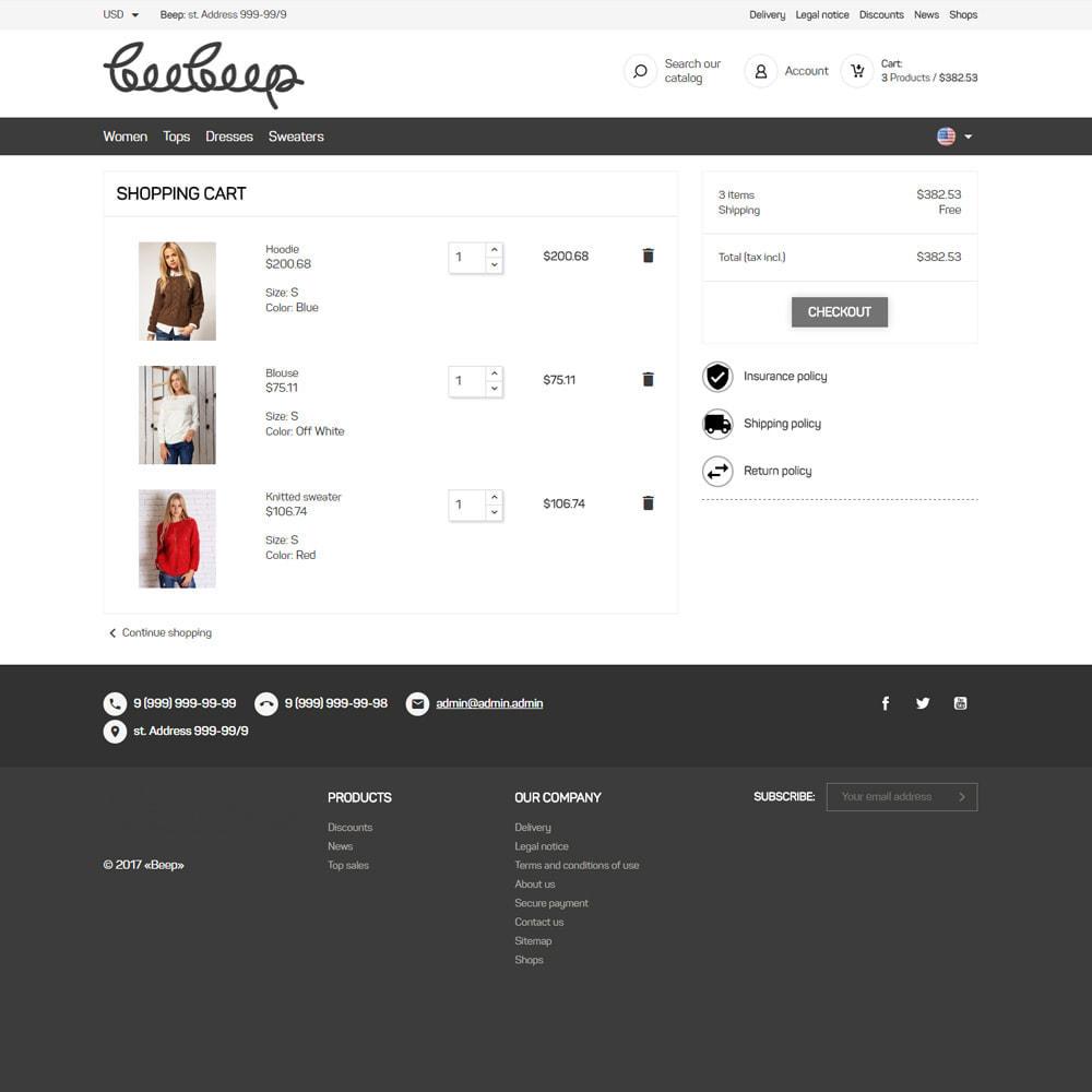 theme - Moda & Obuwie - Sklep z odzieżą Beep - 8
