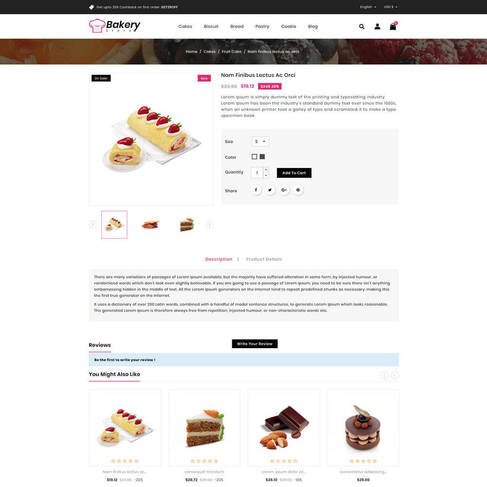 theme - Gastronomía y Restauración - The Bakery Store - 4