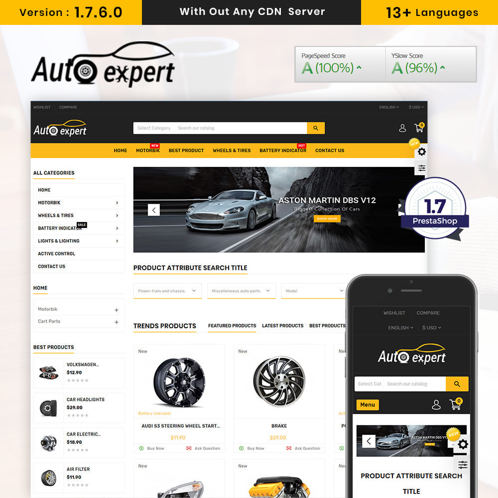 theme - Coches y Motos - AutoExport Autopart Shop - 1