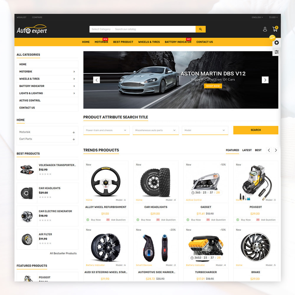 theme - Coches y Motos - AutoExport Autopart Shop - 2