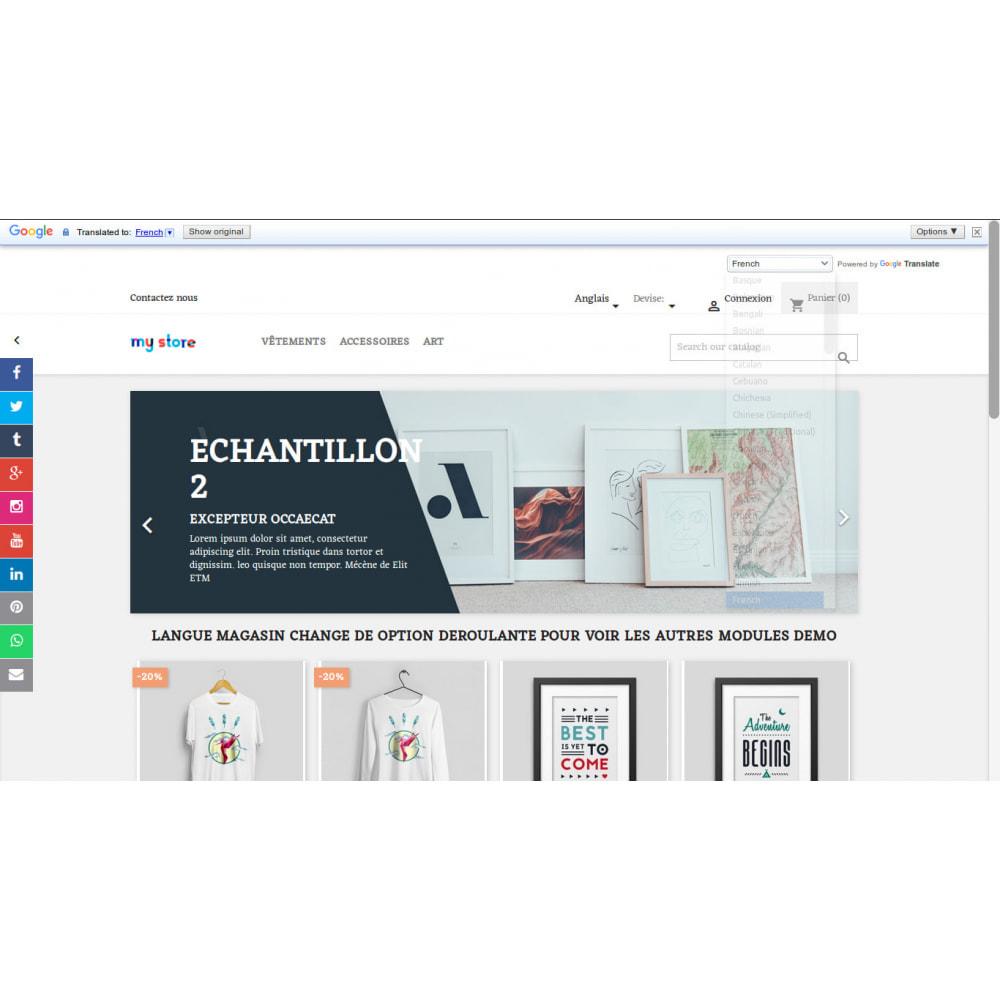 module - Internacional & Localização - Tradução do Google da loja em mais de 100 idiomas - 3