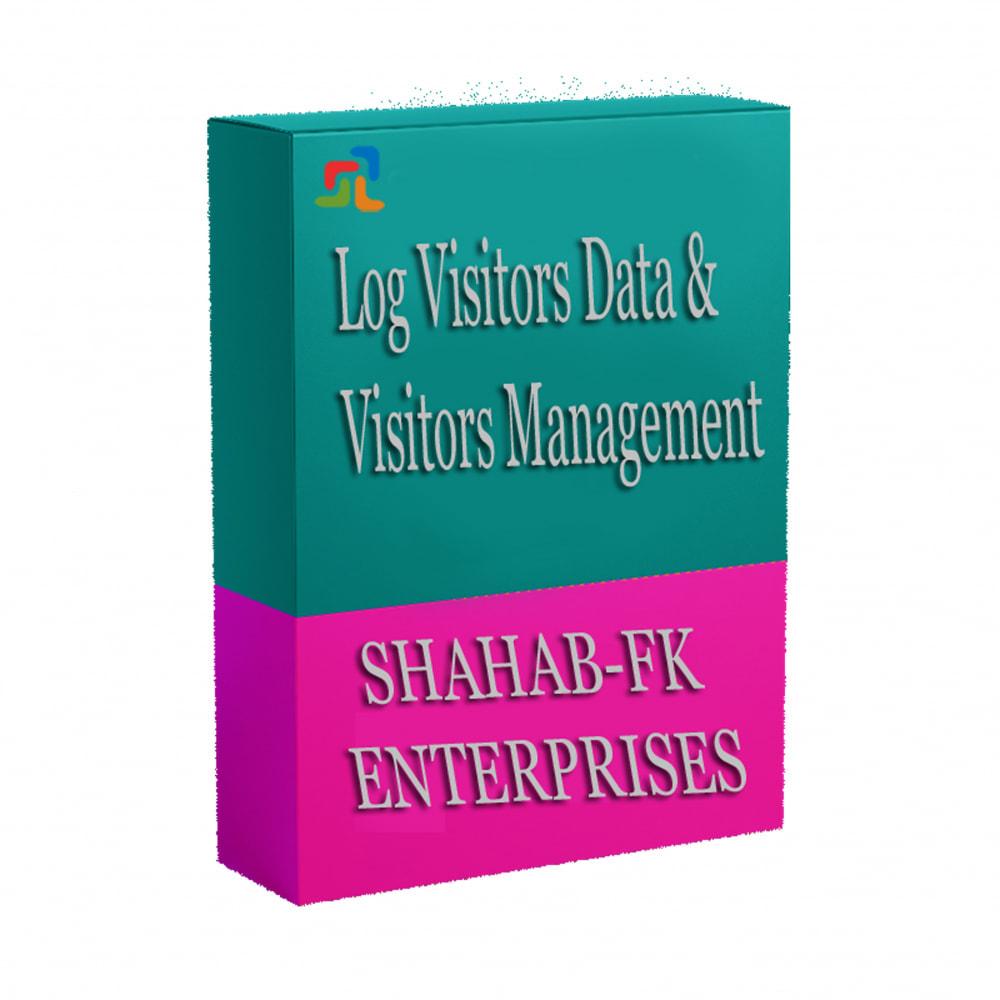 module - Analizy & Statystyki - Rejestruj dane użytkowników i zarządzanie - 4