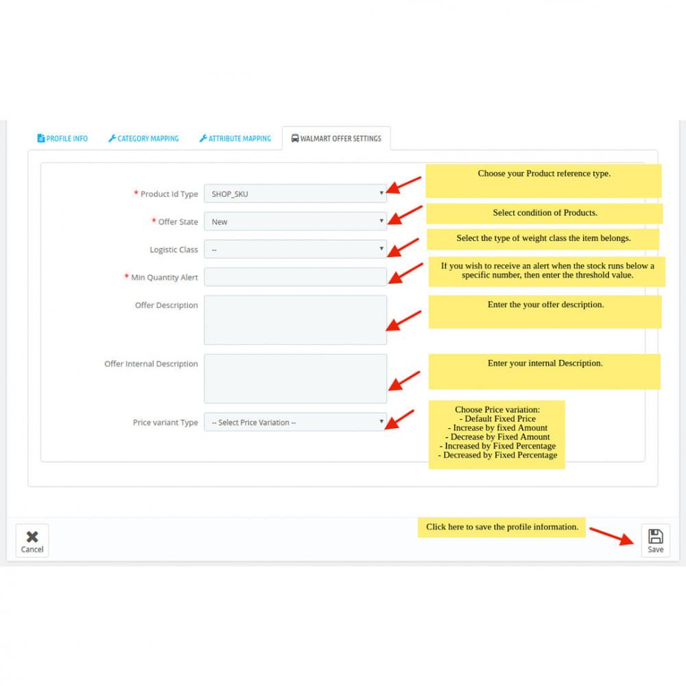 module - Datenabbindungen zu Drittsystemen (CRM, ERP, ...) - Walmart Mexico Integration - 10