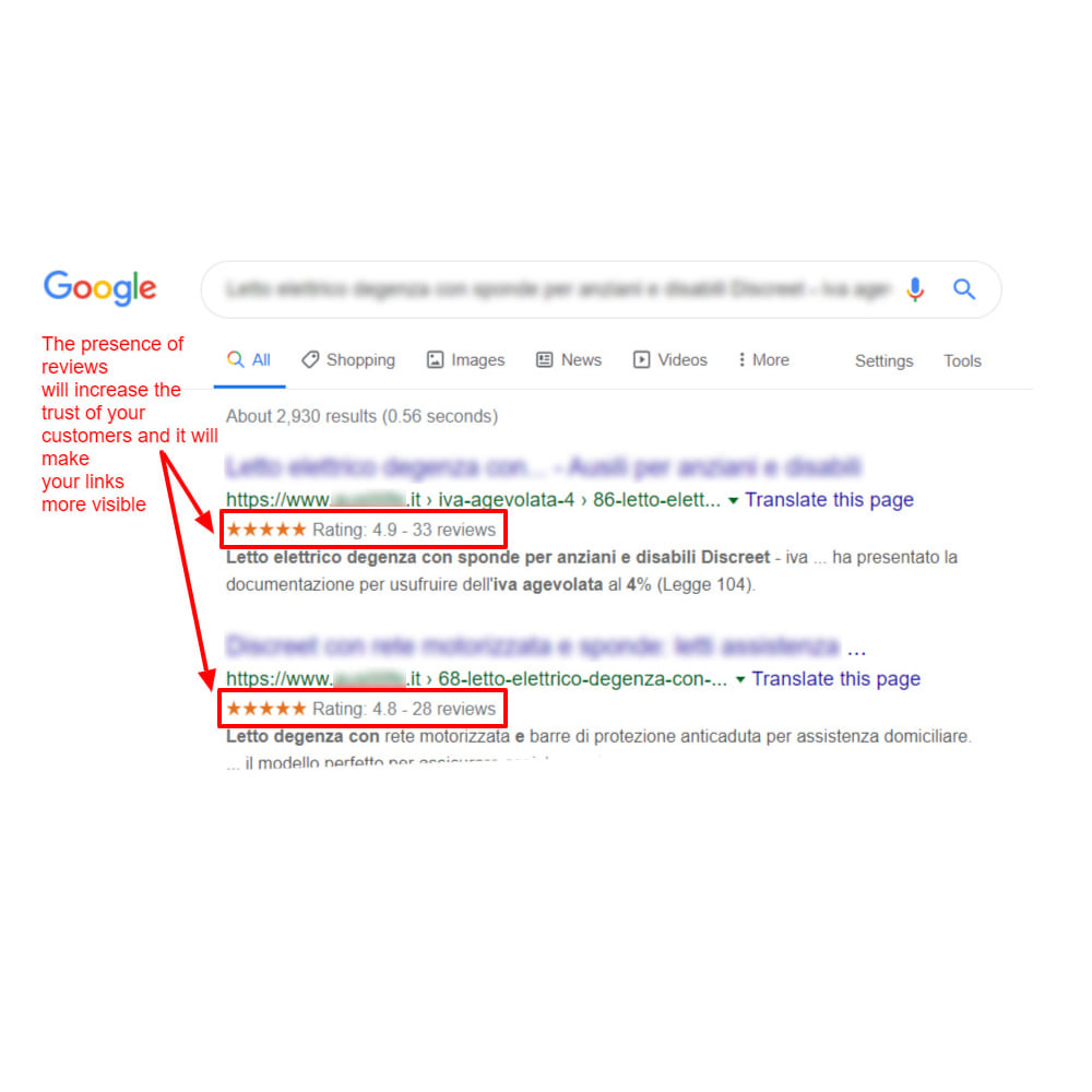 module - SEO (Pozycjonowanie naturalne) - Google Structured Data Snippet for Product reviews - 5