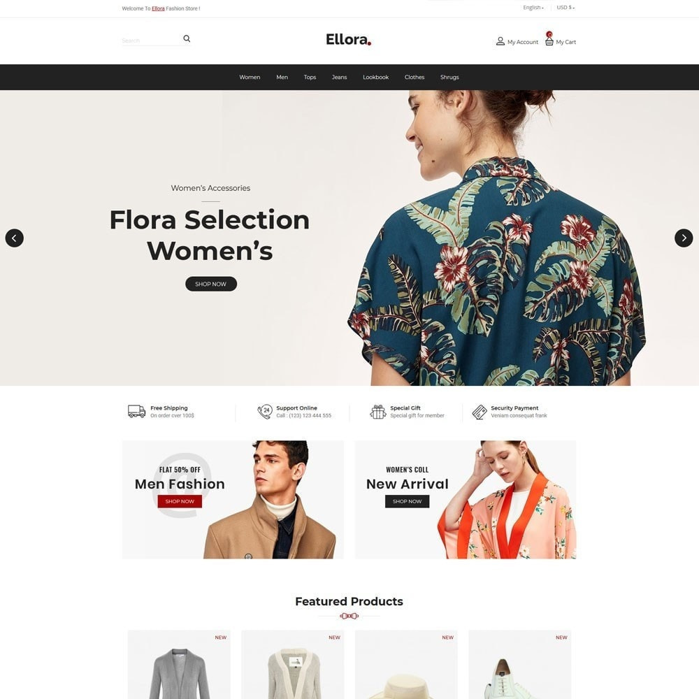 theme - Fashion & Shoes - Women  Fashion Designer  - Cloth Men Store - 2