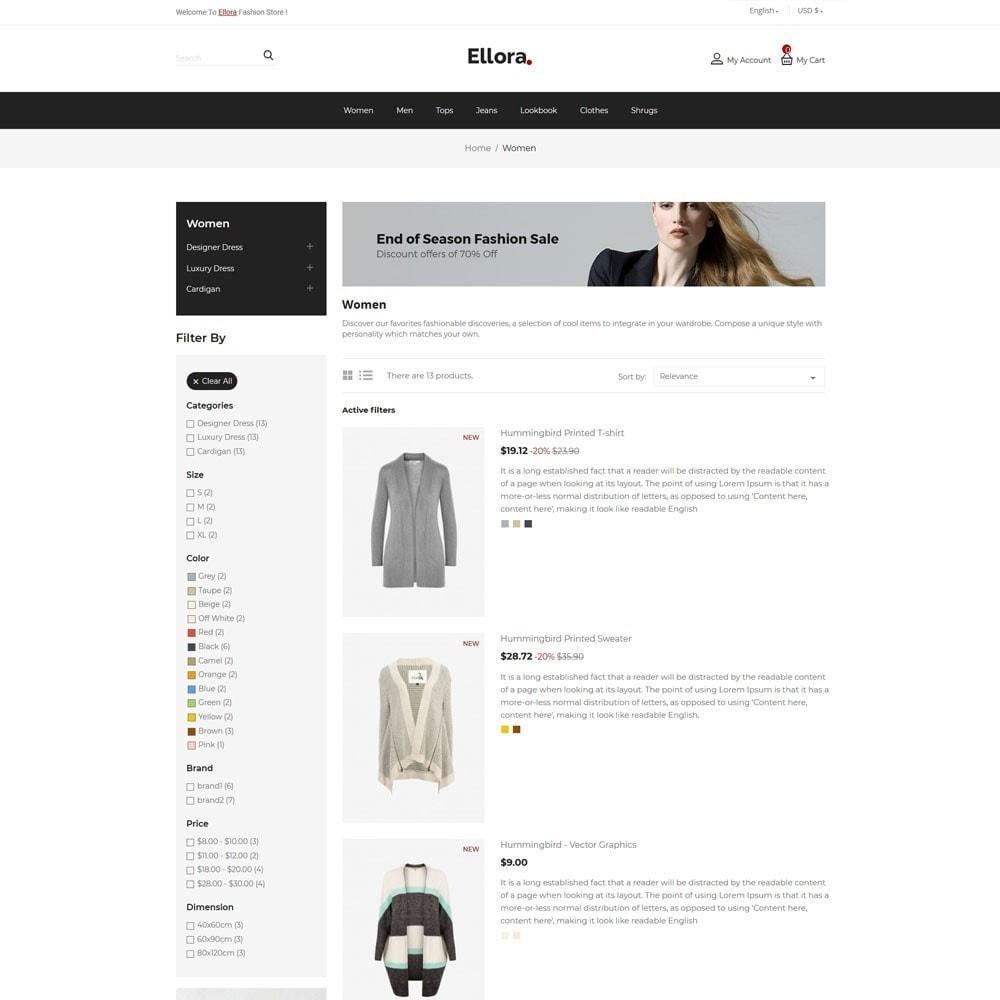 theme - Fashion & Shoes - Women  Fashion Designer  - Cloth Men Store - 4