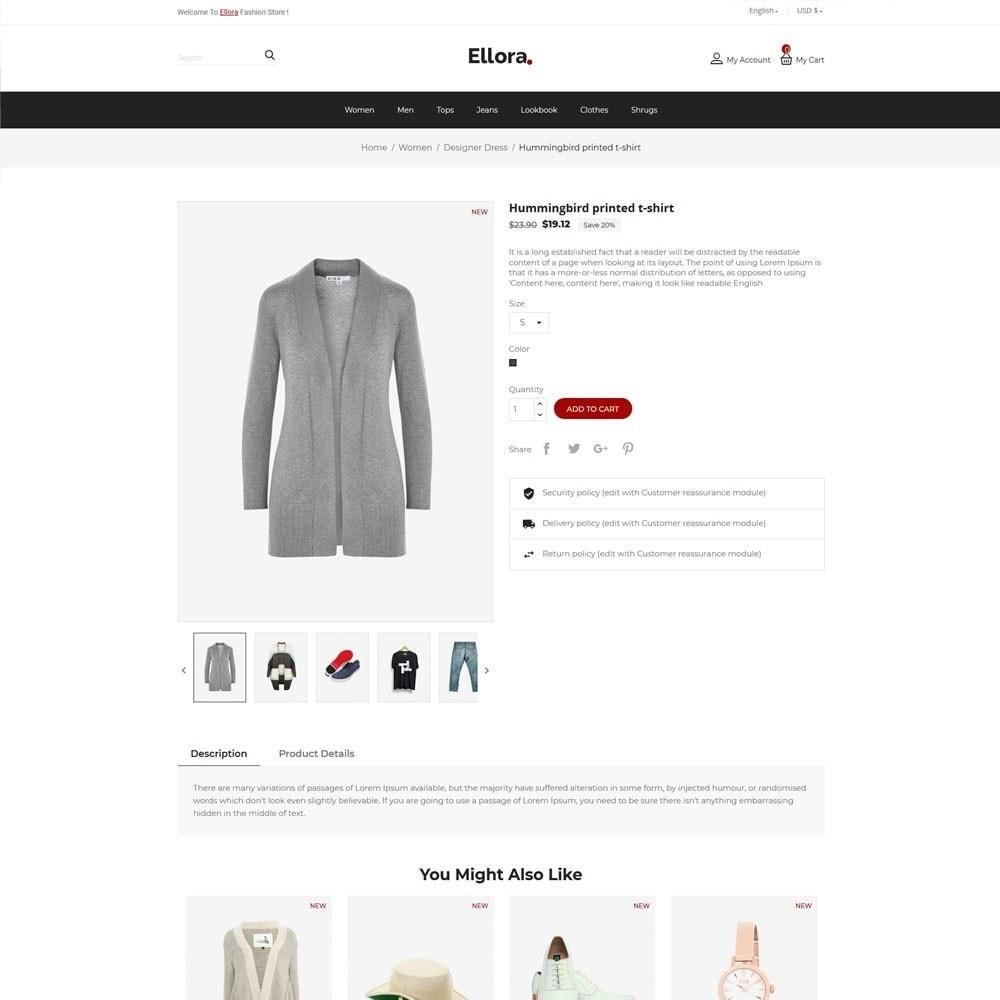 theme - Fashion & Shoes - Women  Fashion Designer  - Cloth Men Store - 5