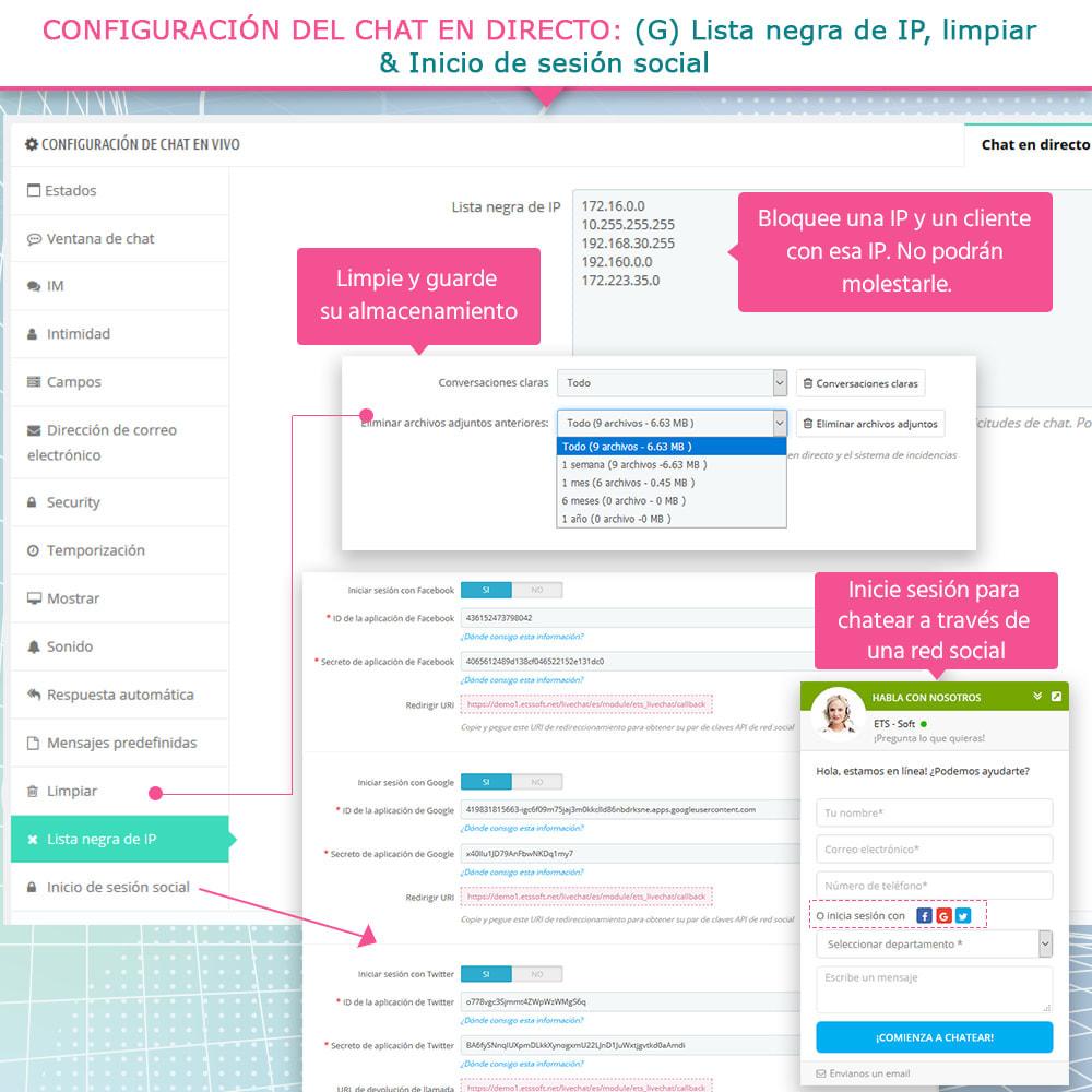 module - Asistencia & Chat online - Chat en directo y Sistema de incidencias - 11