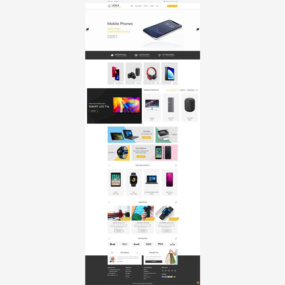 theme - Electronics & Computers - Loka Electronic Store - 2