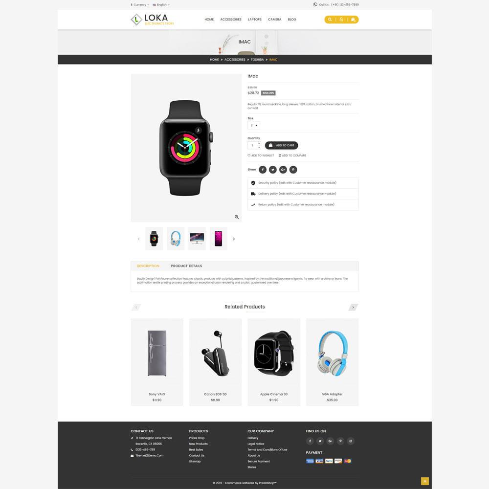 theme - Electronics & Computers - Loka Electronic Store - 4