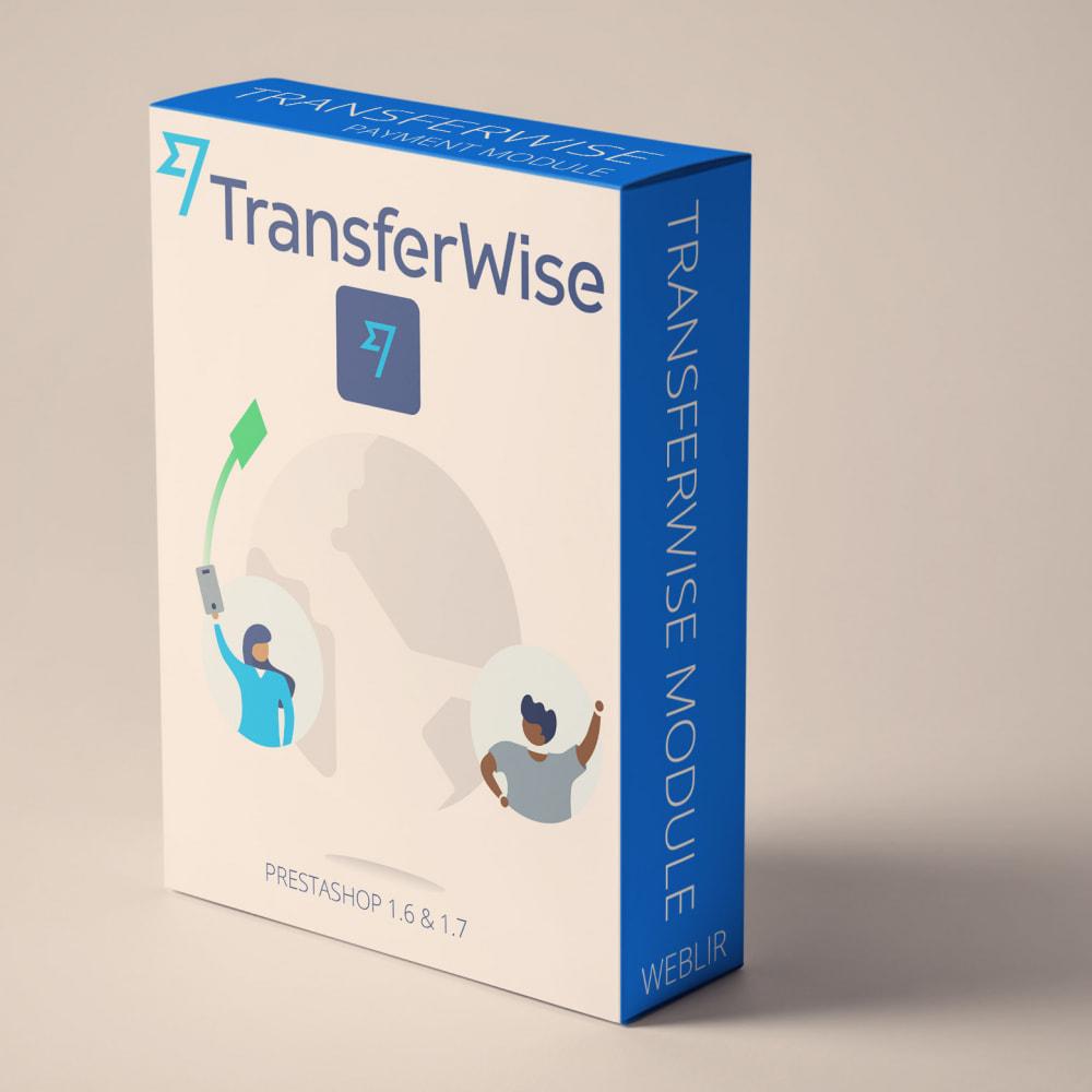 module - Pagamento con Carta di Credito o Wallet - Transferwise pagamenti lite - 1