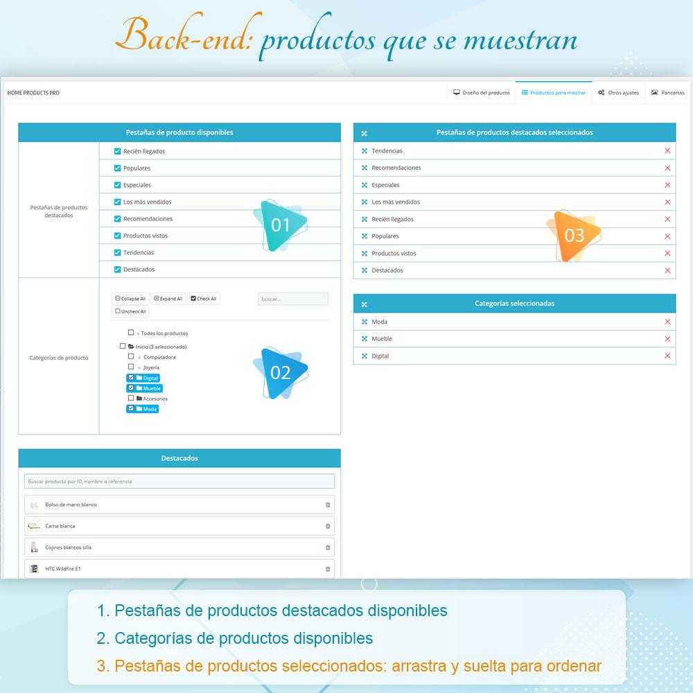 module - Productos en la página de inicio - Home Products PRO - Lista de producto personalizable - 7