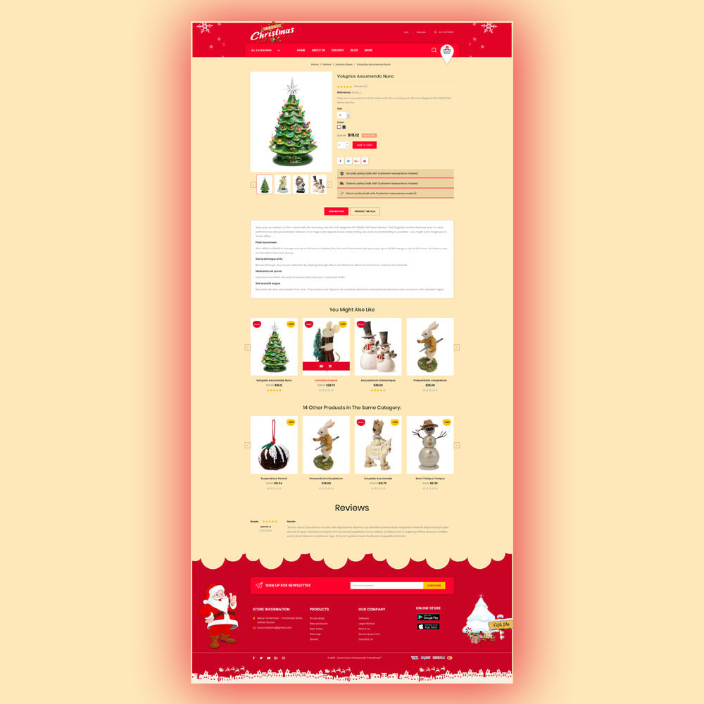 theme - Gifts, Flowers & Celebrations - Merry-Christmas - Christmas Store - 6