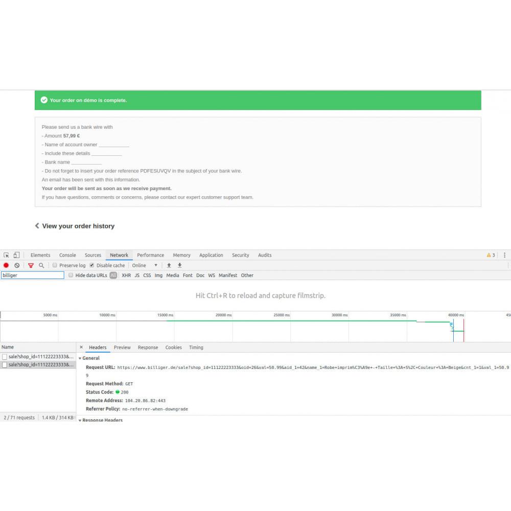 module - Analizy & Statystyki - Billiger - 2
